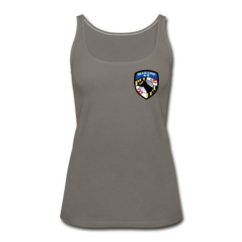 K-9 unit Logo - Women's Premium Tank Top