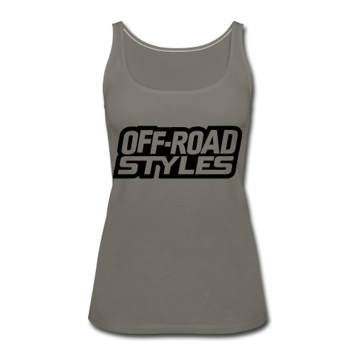 Snowmobile Warning - Women's Premium Tank Top