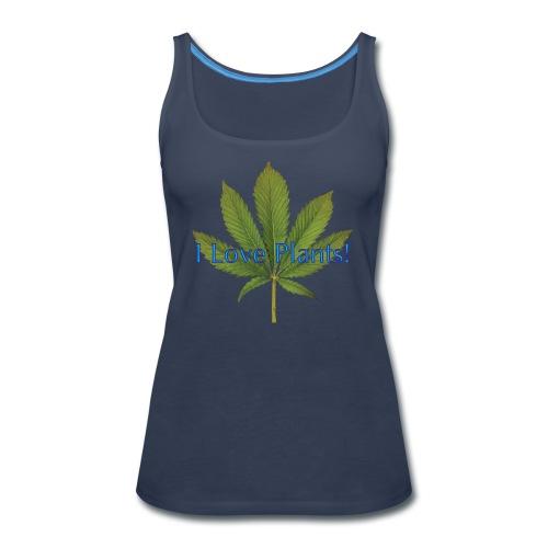 I Love Plants - Women's Premium Tank Top