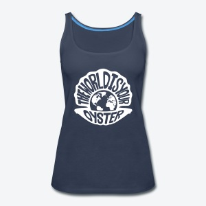 The World Is Your Oyster - Light - Women's Premium Tank Top