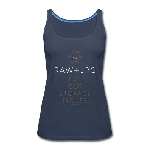 For the RAW+JPG Shooter - Women's Premium Tank Top