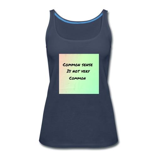 Uncommon sense - Women's Premium Tank Top