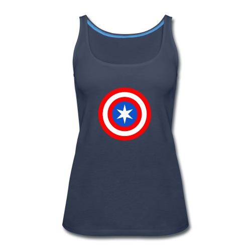Captain Chicago - Women's Premium Tank Top