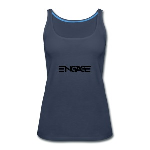 Engage-Logo-Vector - Women's Premium Tank Top
