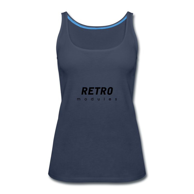 Retro Modules - sans frame - Women's Premium Tank Top