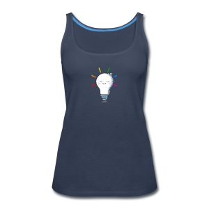 Lighten Up - Women's Premium Tank Top