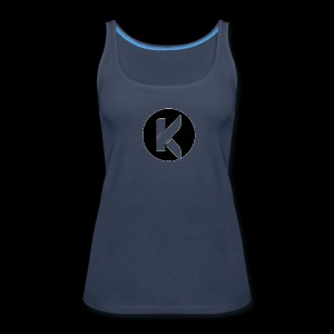 Koptivate Logo (Circle) - Women's Premium Tank Top