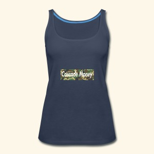 Cascade money camo - Women's Premium Tank Top