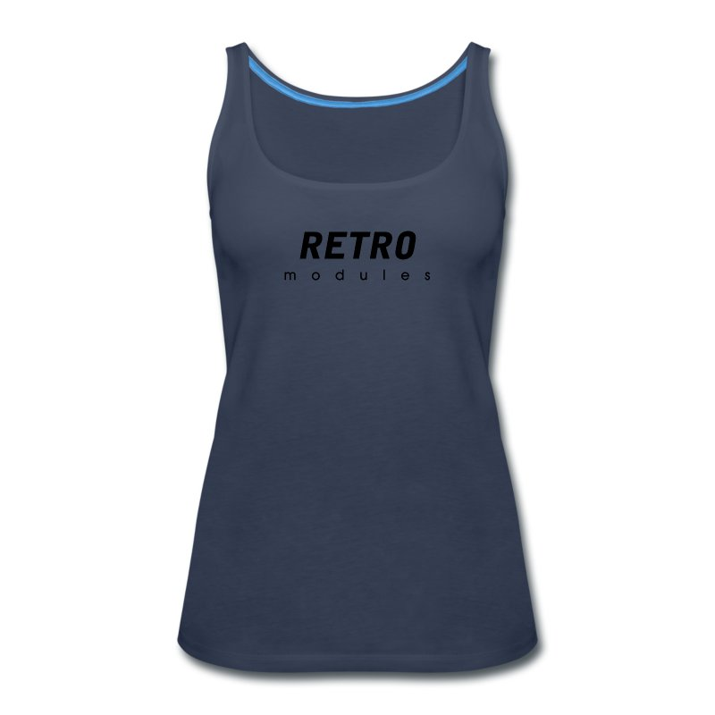Retro Modules - sans frame - Women's Premium Tank Top
