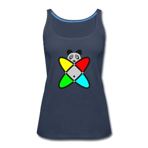 SCIENCE PANDA - Women's Premium Tank Top