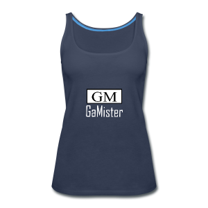 gamister_shirt_design_1_back - Women's Premium Tank Top