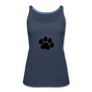 Black Paw Stuff - Women's Premium Tank Top
