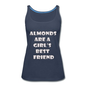Almonds - Women's Premium Tank Top