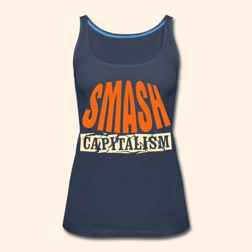 Smash Capitalism - Women's Premium Tank Top