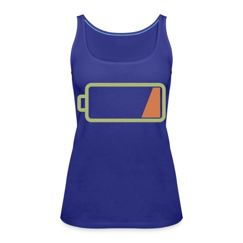 Silicon Valley - Low Battery - Women's Premium Tank Top