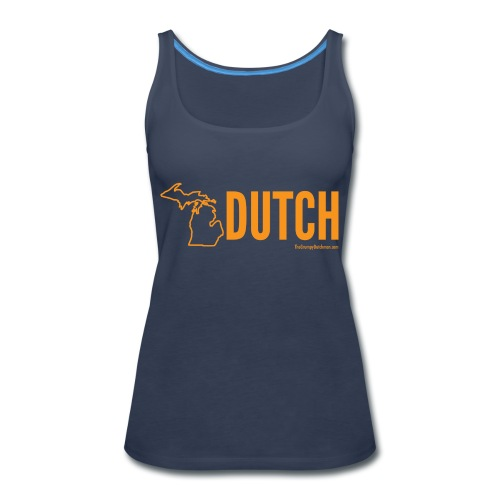 Michigan Dutch (orange) - Women's Premium Tank Top