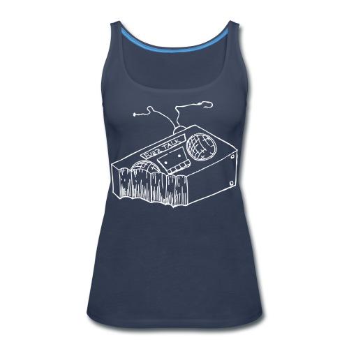 FTRLogoWhite - Women's Premium Tank Top
