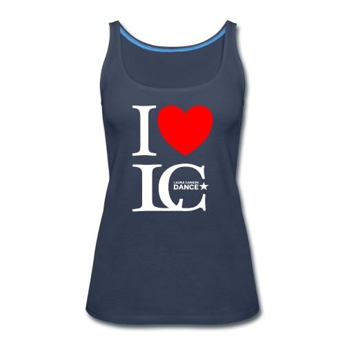 I Heart LCDance - Women's Premium Tank Top