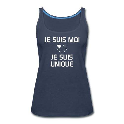 JeSuisMoiJeSuisUnique - Women's Premium Tank Top