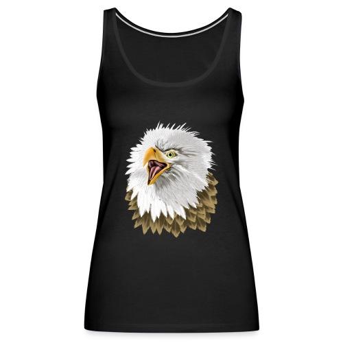 Big, Bold Eagle - Women's Premium Tank Top
