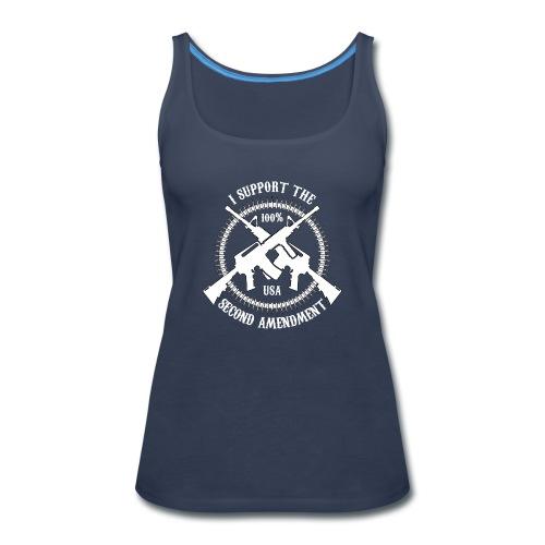 I Support The Second Amendment - Women's Premium Tank Top