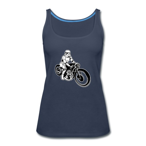 Stormtrooper Motorcycle - Women's Premium Tank Top