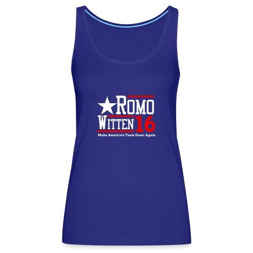 Make America's Team Great Again - Women's Premium Tank Top