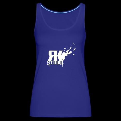 RKStudio White Logo Version - Women's Premium Tank Top
