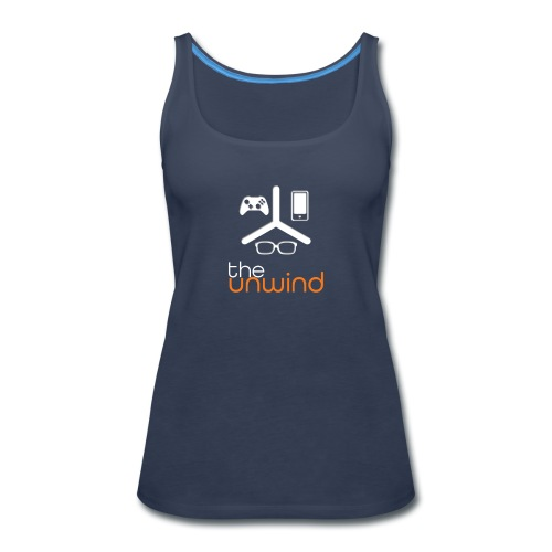 The Unwind (Orange) - Women's Premium Tank Top
