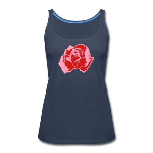 lil pink rose - Women's Premium Tank Top