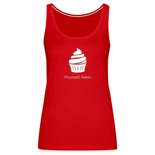 Procrasti-baker - white - Women's Premium Tank Top