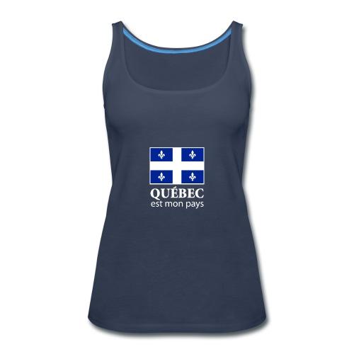Québec est mon pays - Women's Premium Tank Top