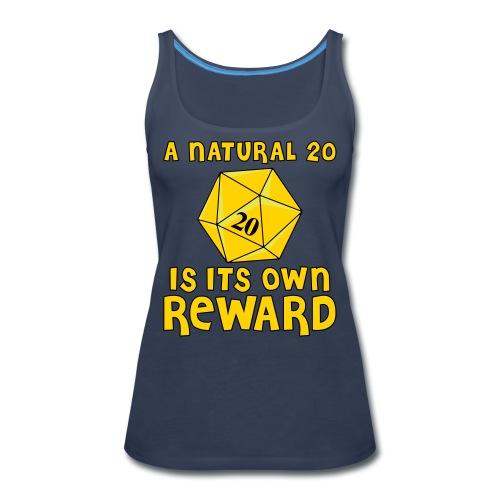 Natural Twenty - Women's Premium Tank Top