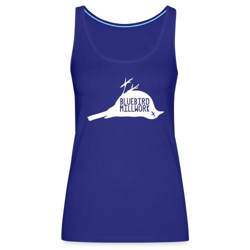 Bluebird Logo - Women's Premium Tank Top