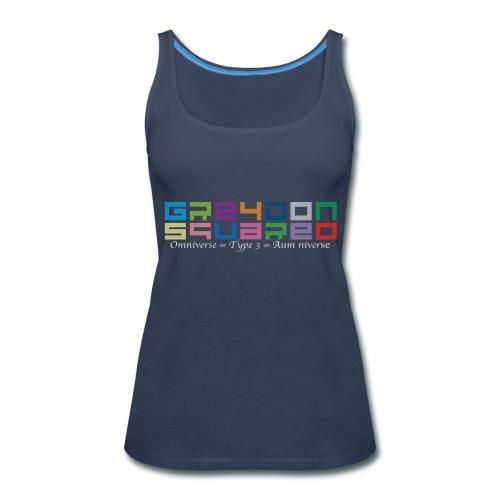 Greydon Square Colorful Tshirt Type 3 - Women's Premium Tank Top