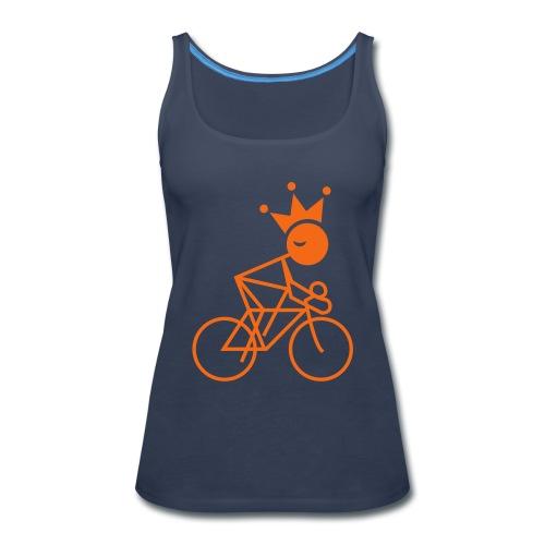 Winky Cycling King - Women's Premium Tank Top