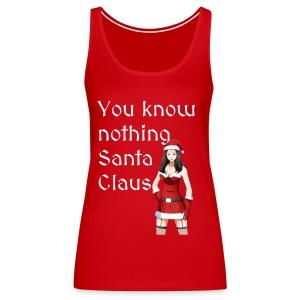 Sexy Mrs. Claus - Women's Premium Tank Top