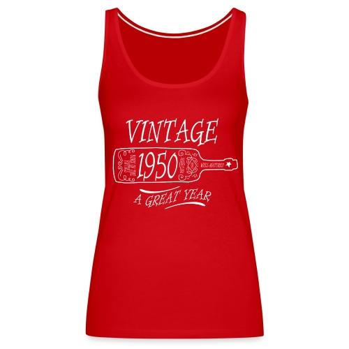 Vintage 1950 a Great Year - Women's Premium Tank Top