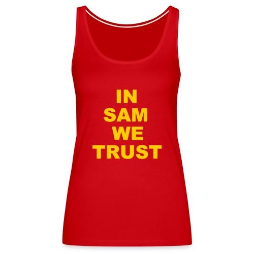 In SD We Trust - Women's Premium Tank Top