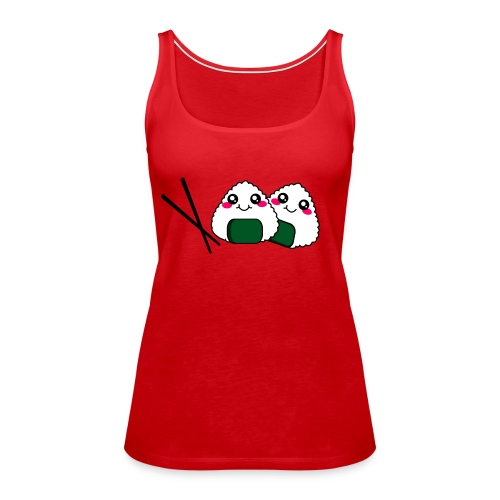 sushi addict - Women's Premium Tank Top