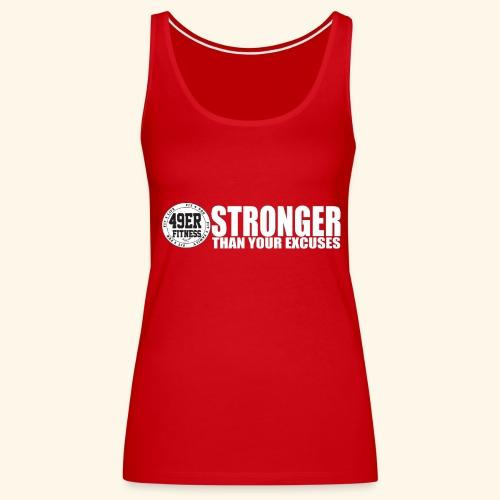 strongerblack - Women's Premium Tank Top