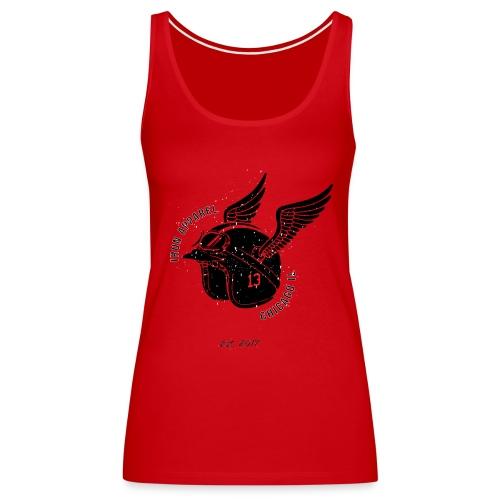 Wing Helmet Red 13 - Women's Premium Tank Top