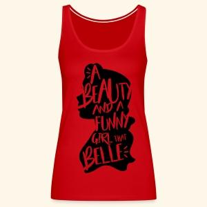 Funny girl - Women's Premium Tank Top