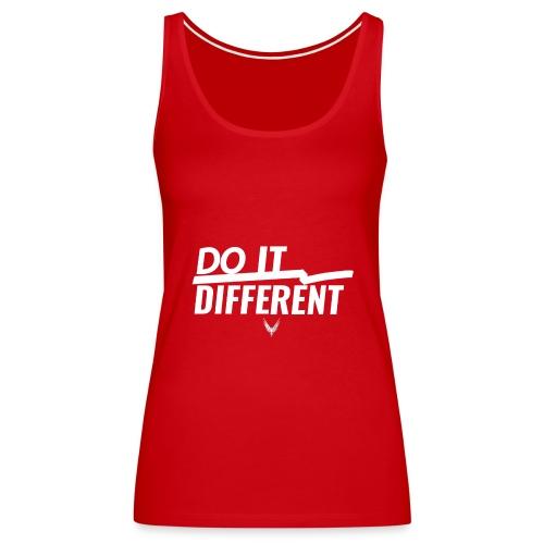 Do It Different merch by Maverick Apparel - Women's Premium Tank Top