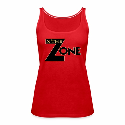 in the zone Logo - Women's Premium Tank Top