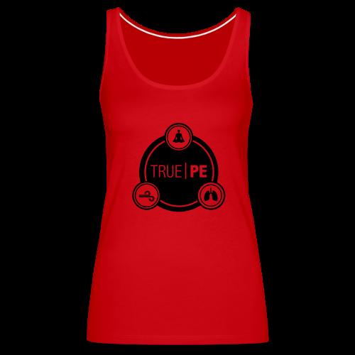true PE logo - Women's Premium Tank Top
