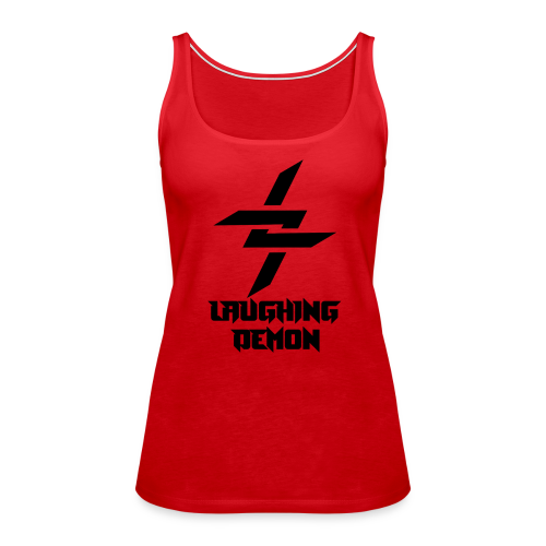 Laughing Demon Dark - Women's Premium Tank Top