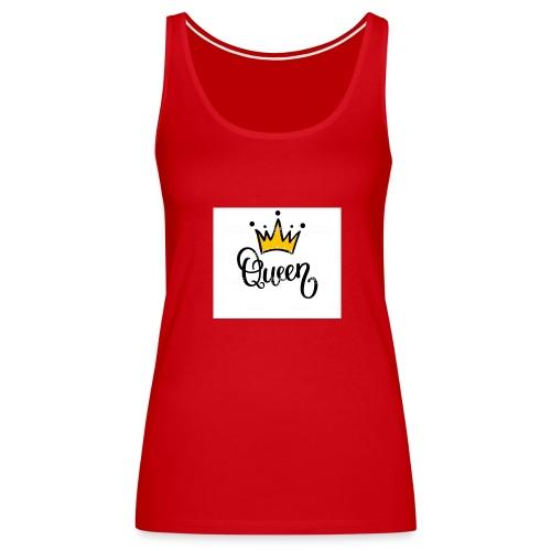 Queen crown design ( desinged by : Malk Queen - Women's Premium Tank Top
