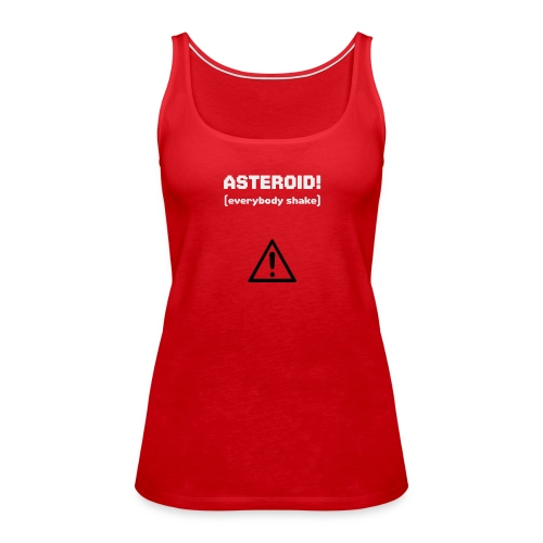 Spaceteam Asteroid! - Women's Premium Tank Top