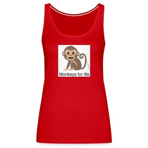 Monkeys for life tank top - Women's Premium Tank Top